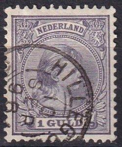 Netherlands #50   F-VF Used  CV $77.50  (Z1211)