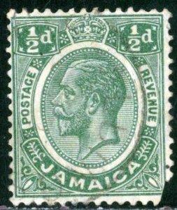 JAMAICA - SC #101 - USED FAULT - 1927- JAMA030NS3