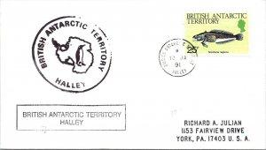 1991 British Antarctic Territory 156