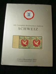 CORINPHILA AUCTION CATALOGUE 2010 SCHWEIZ
