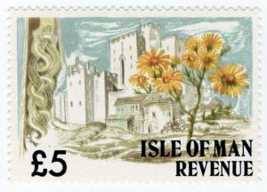 (I.B) Elizabeth II Revenue : Isle of Man £5