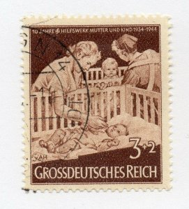 Germany 1943 Early Issue Fine Used 3pf. NW-100702