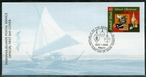 MARSHALL ISLANDS 2006 CHRISTMAS  FIRST DAY COVER