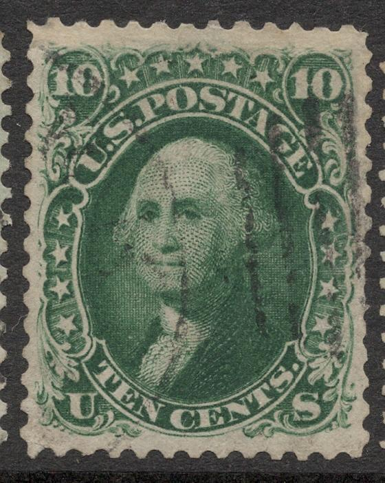 US#62B Dark Green - Very Fine - Used