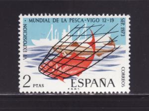 Spain 1771 Set MNH Fish, Ship (A)