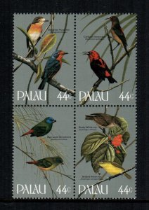 Palau MNH Block 102a Gorgeous Birds