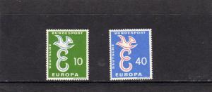 Germany 1959 Europa MNH