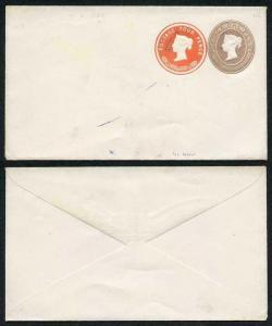 ESC29 QV 1d Lilac 4d Vermillion (7.2.84) Compound Envelope Mint