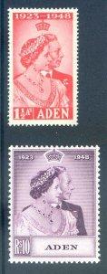 Aden 1948 Silver Wedding Unmounted Mint