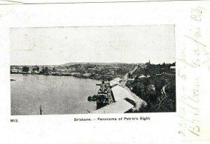 Australian States QUEENSLAND Early Undivided Back Card Brisbane PPC 1904 DA105