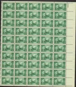 US  #930-33  FRANKLIN ROOSEVELT (SET OF 4)  SHEET OF 50