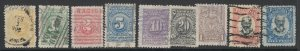 Colombia, Scott 314-322, used