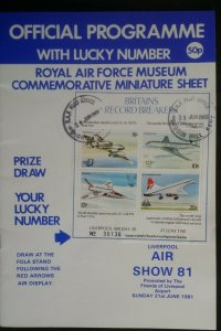 GB 1981 Liverpool Airport Airshow RAF Museum Commen MS Biggin Hill CDS
