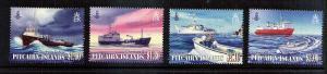 Supply Ships   Pitcarin Island   4 var...mnhPaypal....S&H .99 USA