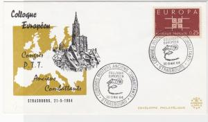 France Europa 1964 European Conference Stamps Cover ref R 18703