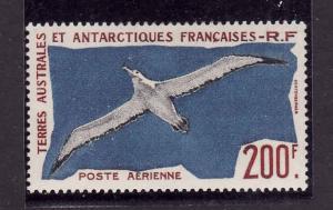 French Southern & Antarctic-Sc#C3-unused hinged-Birds-Wandering Albatross-