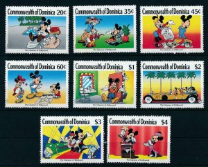 [22213] Dominica 1989 Disney Mickey Mouse in Hollywood MNH