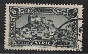 Syria Scott 224 Used stamp 1932