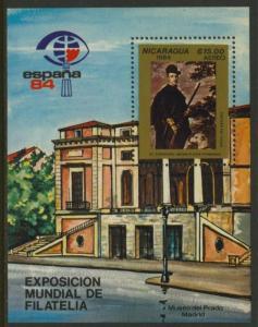Nicaragua C1044 MNH ESPANA '84, Cardinal Infante Don Fernando, Art