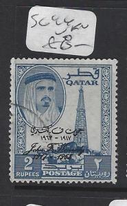 QATAR   (P0503B)  SHEIKH 2R KENNEDY   SG 44   VFU
