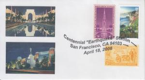 2006 California - San Francisco Earthquake. Centennial  San Francisco Pictorial