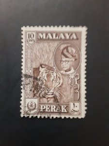 *Malaya (Perak) #126            Used