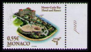 Monaco Monte-Carlo Bay Hotel SG#2720 MI#2763