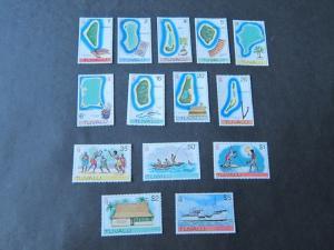 Tokelau Islands 1976 Sc 23-37 set MNH