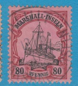 GERMAN COLONIES MARSHALL ISLANDS 21 USED NO FAULTS EXTRA FINE