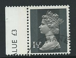 GB QE  II  SG X848 Fine Used   Margin Copy