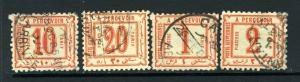 Egypt #J1-4 Great clean and nice (USED) -  cv$110.00