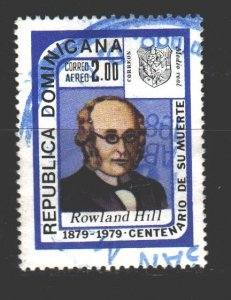 Dominican Republic. 1979. 1238. R. Hill Mail Reformer. USED.