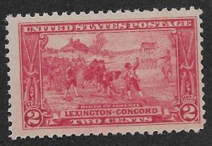 UNITED STATES SC# 618  FVF/MNH 1927