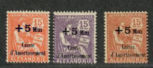 Fr. Offices Alexandria Sc#B2, 3a-4 M/H/F, Cv. $22.25