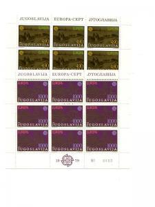 Yugoslavia  1979  Europa sheets VF NH  - Lakeshore Philatelics