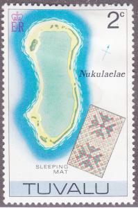 Tuvalu 24 Map of Nukulaelae 1976