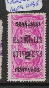 Guatemala SC 93 Double Surcharge MOG (4dqn)