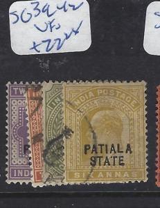INDIA PATIALA  (P1012B) KE  SG 39-42  VFU