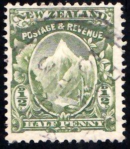 New Zealand Scott 107 Used.