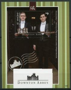 St Vincent & Grenadines 2014 MNH Downton Abbey Mason 1v S/S TV Series Stamps