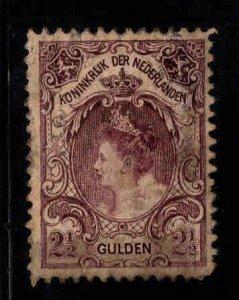 Netherlands Scott 84 used nicely centered stamp,