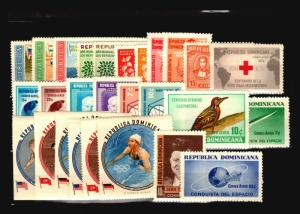 Dominican Republic 27 Mint (Most NH) Airmail / Few Faults - C1077