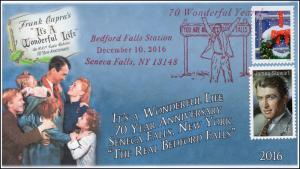 2016, Bedford Falls, Its a wonderful life, Christmas, Seneca Falls NY, 16-363