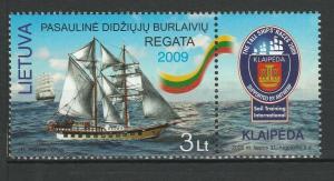 Lithuania 2009 Ships MNH stamp