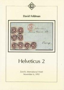Helveticus 2, Classic Switzerland, David Feldman, Geneva, Nov. 6, 1992, Catalog