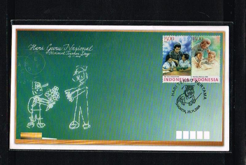 2004 - Indonesia FDC 12/04 - Education - National Teachers day [PB8_172]