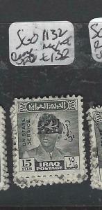 IRAQ  (P2705B)  OFFICIAL  15   F  SG O1132    VFU
