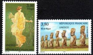 France #2o49-50  MNH CV $3.40  (P625)