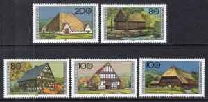Germany B802-B806 MNH VF