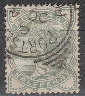 Great Britain #78  F-VF Used CV $13.50  (A2651)